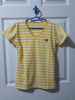 Stripe Shirt Yellow