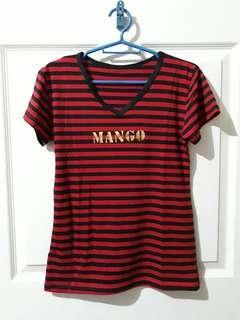 Stripe Shirt Red