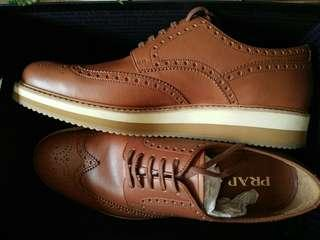 Authentic Prada Calf Leather shoes