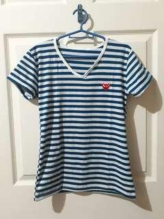 Stripes Shirt Bluegreen