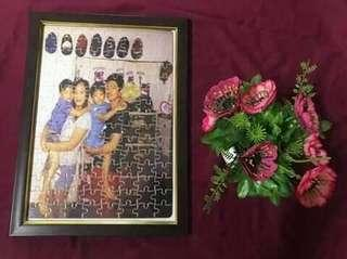 PUZZLE PICTURE WITH FRAME