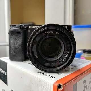 Jual Cepat Sony a6000 body + 50mm 1.8 OSS