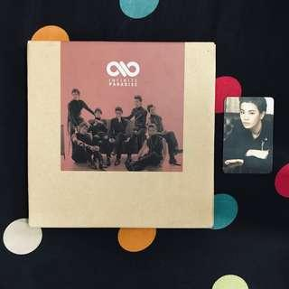 INFINITE 1st ALBUM SPECIAL PACKAGE