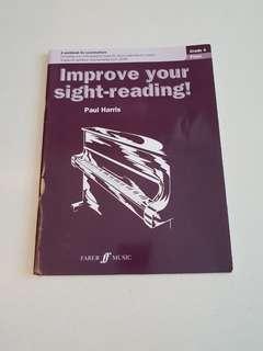 Music Book - Improve your Sight-Reading Grade 4 Piano