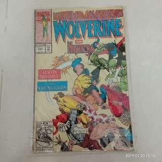 Marvel Comics Presents Wolverine/Ghost Rider #107 #CNY888