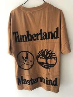 Mastermind x Timberland T-Shirt - Wheat - S (oversized fit)