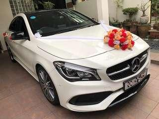 Mercedes Benz CLA Rental w/ driver