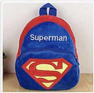 Supermen Little Backpack/bag For Kids (1-3 Yr)
