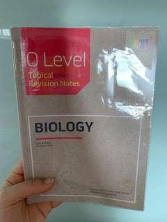Olevel topical pure biology notes