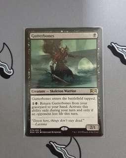 Magic The Gathering - Gutterbones Card