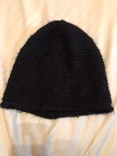 🚚 Zara 黑色毛帽