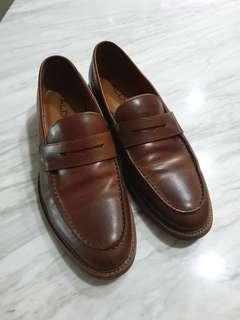 Aldo Brown Penny Loafers
