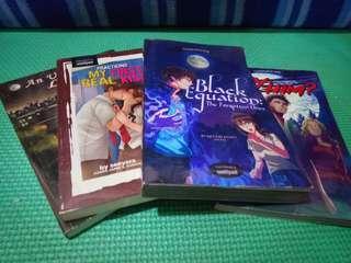 Wattpad Books (PHP80 Each)