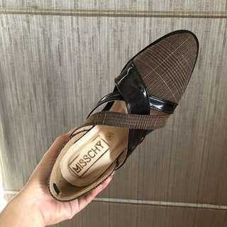 brown shoes • new size 36
