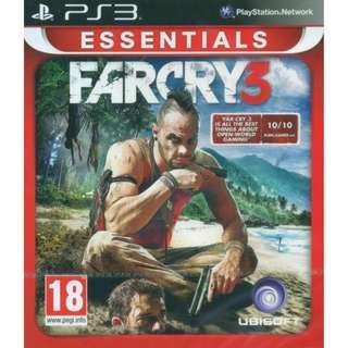 PS3 Far Cry 3 R2 Essentials