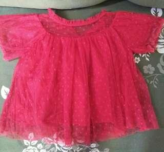 Baby tulle top or dress