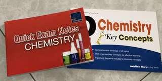 [Assessment Books] Bundle: O Level Chemistry Handbooks