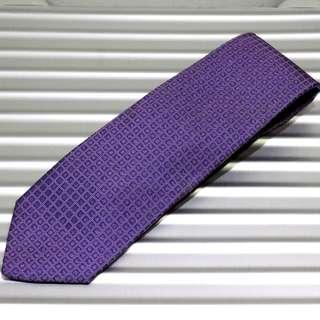 Hermes Purple Checkered Tie (New Year Promosi)