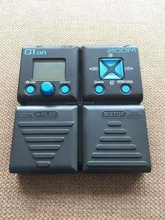 ZOOM G1 on G1ON guitar multi effects