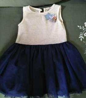 Crib cotoure tulle dress