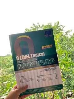 [Assessment Book] O Level Topical Combined Humanities History Elective TYS (2003-2012)
