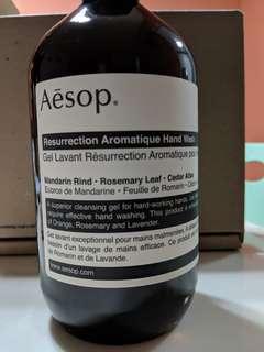 BNIB: Aesop hand wash 500ml