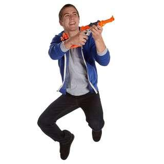 Nerf Sharpfire single shot blaster with 2 holster and front barrel