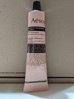 BN Sealed Aesop hand balm 75ml