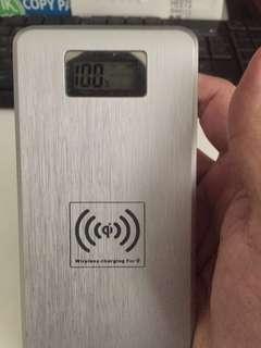 wireless power bank 12000mAh with 2 usb