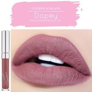Colourpop ultra satin lip in dopey