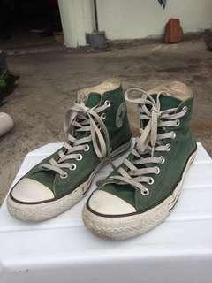 Converse CT Hi Green Jade US patent pending