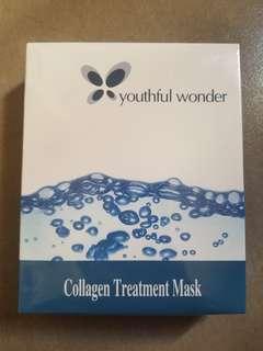 Youthful Wonder Collagen Treatment Mask 面膜 7 片裝