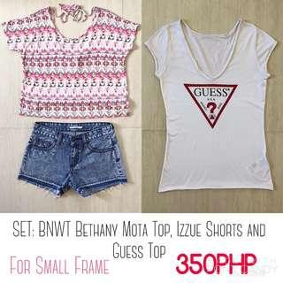 BUNDLE: Bethany Mota, Izzue and Guess