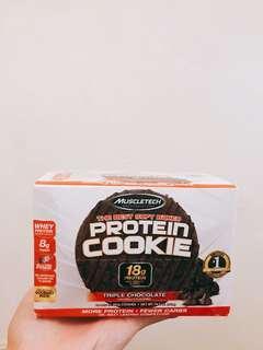 Muscletech 蛋白曲奇餅 Triple chocolate