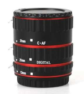 Canon ef extension tube