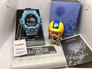 Japan Exclusive JDM Casio G-Shock x ICERC Love the Sea and the Earth 2016 Limited Edition Collaboration GW9400 Series Rangeman Watch