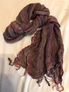 🚚 印度買的手工圍巾(咖啡色)