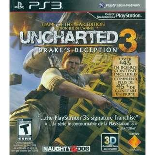 PS3 Uncharted 3 [English]