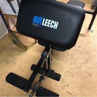 Guy Leech Gym workout bench