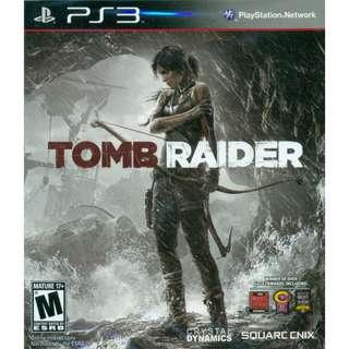 PS3 Tomb Raider [English]