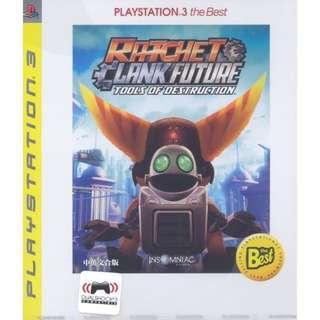 PS3 Ratchet & Clank Tools Of Destruction [English]