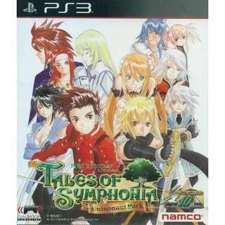 PS3 Tales Of Symphonia [English]