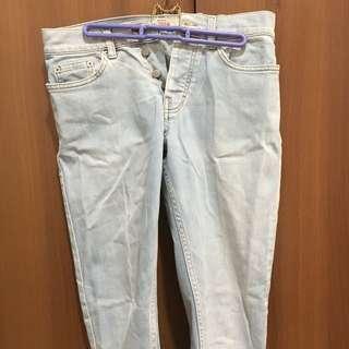 TOPMAN Straight Slim Jeans