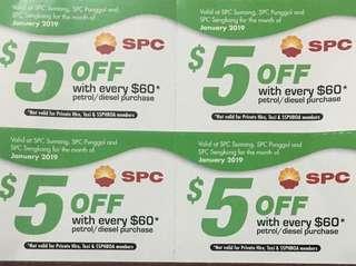 SPC petrol voucher (Jan 2019)