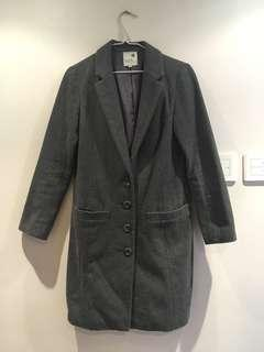 (SF delivery only) earth music grey coat s