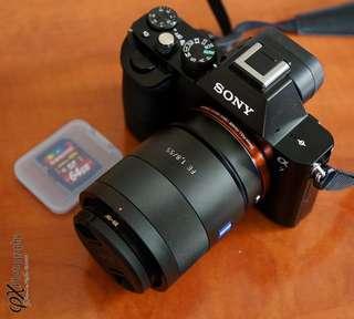 Kredit Sony Alpha A7 + 50mm F1.8