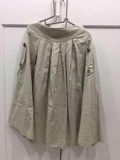 文青簡單米色長裙