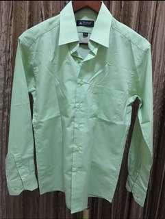 SALE kemeja hijau cowok