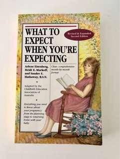 What to Expect When You're Expecting Pregnancy Guide - Free Postage!