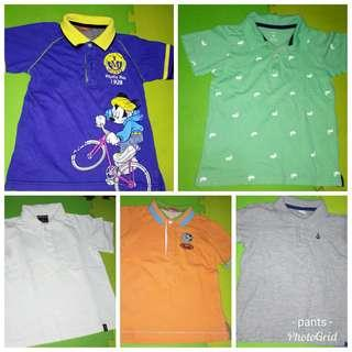 Boy's Collared/ Polo Shirt